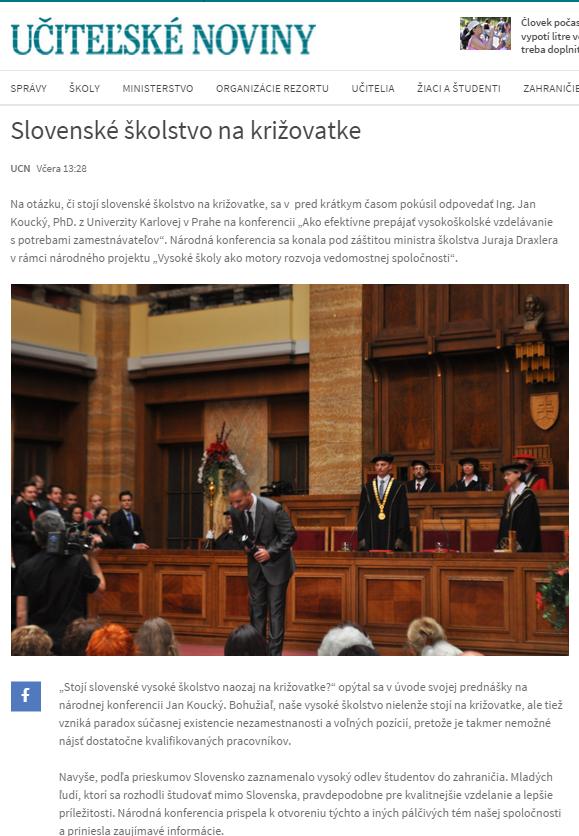 Slovenské školstvo na križovatke