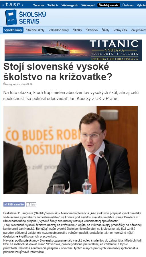 Stojí slovenské školstvo na križovatke?